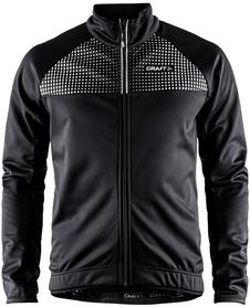 Craft Rime Jacket - męska wiatroszczelna kurtka rowerowa czarna