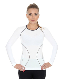 koszulka damska termoaktywna biała Brubeck Balance