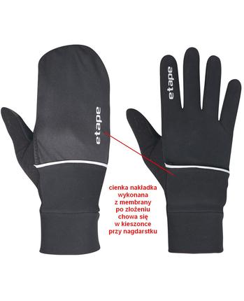 Etape Cover WS+ rękawiczki hybrydowe