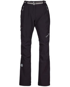 Milo Juuly Lady - lekkie spodnie trekkingowe czarne