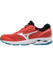 MIZUNO WAVE RIDER 22 - męskie buty do biegania, czerwone AW18