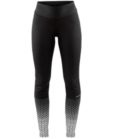 CRAFT WARM TRAIN WIND TIGHTS W - damskie spodnie z membraną