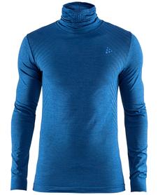 Craft Fuseknit Comfort Turtleneck - koszulka męska z golfem ciemnoniebieska