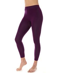 Brubeck Thermo damskie getry termoaktywne purpurowe
