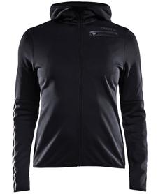 Craft Eaze Jersey Hood - damska bluza z kapturem czarna