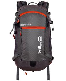 Milo Coroico plecak 25+3 L szary/burgundowy