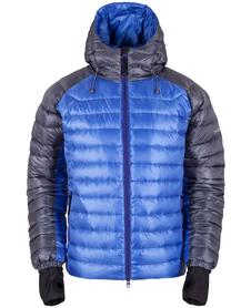 MILO MANALI - męska kurtka puchowa, niebieska/grafitowa