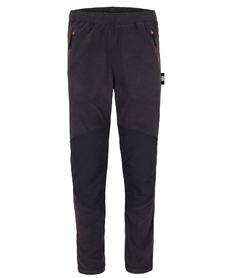 męskie spodnie polarowe Milo Anas Pants czarne