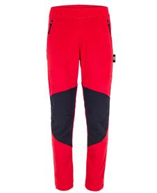 męskie spodnie polarowe Milo Anas Pants czerwone
