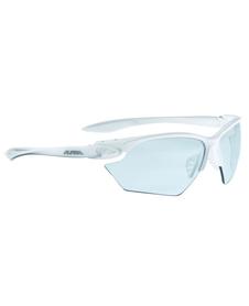 damskie okulary sportowe Alpina Twist Four VL+ białe