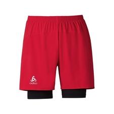 Odlo Shorts Kanon - męskie szorty - czerwone