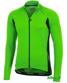 męska lekka bluza rowerowa Berkner Diego L/S zielona