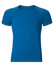 męska koszulka Odlo Evolution X-Light niebieska