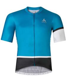 Odlo Kamikaze Aero - męska koszulka rowerowa niebieska