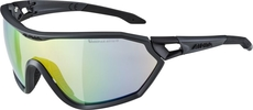 okulary sportowe Alpina S-Way L VLM+ czarne