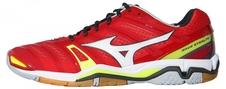 Mizuno Wave Stealth 4 - buty halowe - czerwone