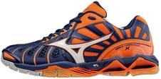 Mizuno Wave Tornado X - buty siatkarskie - pomarańczowe