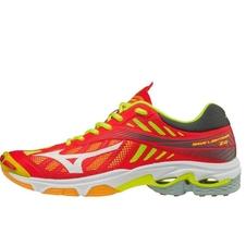buty do siatkówki Mizuno Wave Lightning Z4 - czerwone