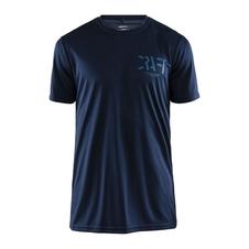 Craft Eaze Graphic Tee - koszulka męska z krótkim rękawem 1906034 granatowa 3XL