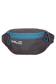 MILO MEYO torebka biodrowa, szary/zielony