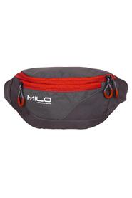 MILO MEYO torebka biodrowa, szary/czerwony