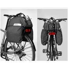 Roswheel torba/sakwa na bagażnik Essential 11+9l 141472