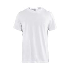CRAFT DISTRICT CLEAN TEE - męska koszulka bawełniana biała