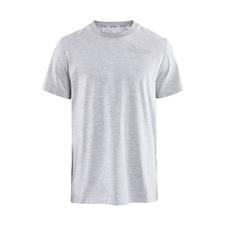 CRAFT DISTRICT CLEAN TEE - męska koszulka bawełniana szara