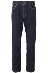 Spodnie jeansowe Rab Off-Width Jeans granatowe