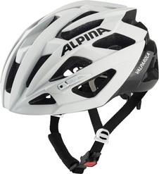 kask rowerowy Alpina Valparola biało-czarny