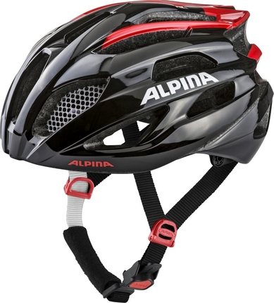 Alpina Kask Fedaia czarno-czerwony
