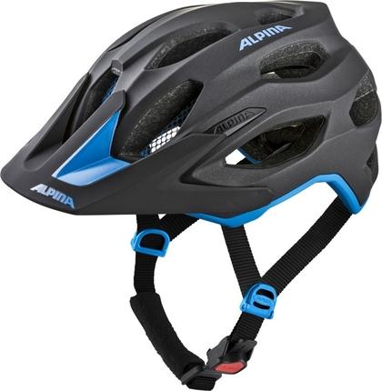 Alpina Kask Carapax 2.0 czarno-niebieski