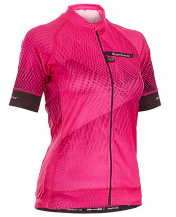 Berkner Marietta - damska koszulka rowerowa z długim zamkiem