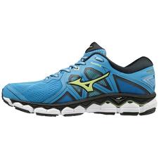 Mizuno Wave Sky 2 - męskie buty do biegania - niebieskie