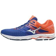 Mizuno Wave Shadow 2 - męskie buty do biegania - niebieski/pomarańczowy