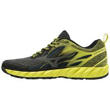 Mizuno Wave Ibuki - buty do biegania w terenie - żółte/czarne