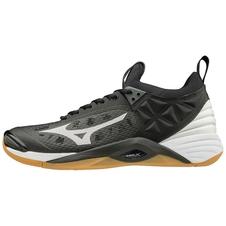buty do siatkówki Mizuno Wave Momentum czarno-białe