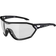 Alpina S-Way L VL+ - okulary sportowe czarne
