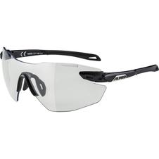 Alpina TWIST 5 SHIELD RL VL+ okulary sportowe czarne