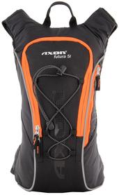 lekki plecak Axon Futura 5 Ultralight czarny/pomarańczowy