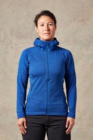 Rab Nucleus - damska bluza z kapturem - niebieska