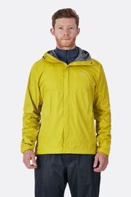 Rab Downpour męska kurtka żółta