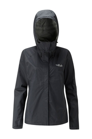 Rab Downpour damska kurtka czarna
