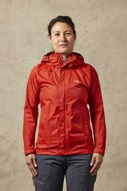Rab Downpour damska kurtka czerwona