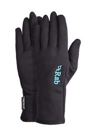 Rękawice damskie Rab Power Stretch Pro Glove czarne