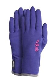 Rękawice damskie Rab Power Stretch Pro Glove fioletowe