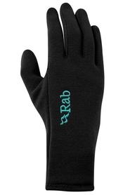 Rękawice damskie Rab Power Stretch Contact Grip Glove czarne