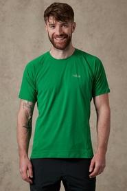 Koszulka męska Rab Force SS Tee zielona