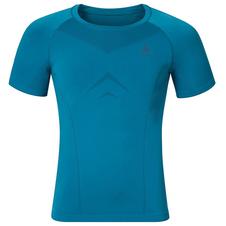 męska koszulka Odlo Evolution Light niebieska