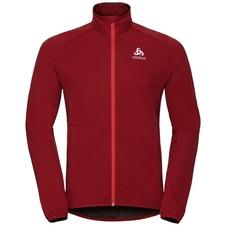 Odlo Jacket Aeolus Element Warm - kurtka męska - burgundowa